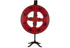 1940s Game Wheel w/Stand on OneKingsLane.com