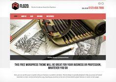 Free Wordpress theme: Flozo free Wordpress theme