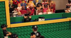 Best Lego ever built - Boston Police officer and the fall