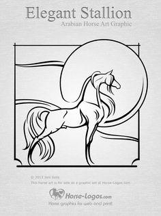 arab horse art - Google Search
