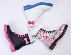 Hello Kitty Doc Martens <3  Double My Style!