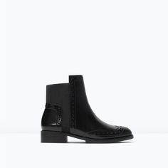 PERFORATED BOOTIES-Shoes-Woman-SHOES & BAGS | ZARA United States