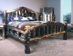 rustic furniture | ... Surrounded by Rustic Aspen Bedroom Furniture - Log Furniture Reviews