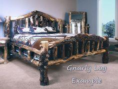 rustic furniture | ... Surrounded by Rustic Aspen Bedroom Furniture - Log Furniture Reviews
