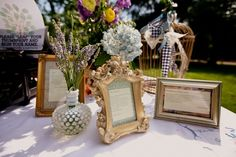 Eclectic Vintage Poetic Summer Wedding!