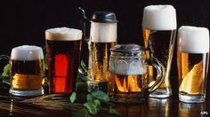 Beer-glass shape alters people's drinking speed - study