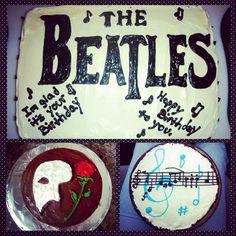 Beatles Cake, Phantom Cake, Music Cake confection.connection's photo on Instagram