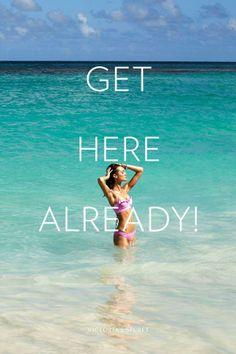 Looking forward to summer, Vegas & honeymoon... Just get here already!!!