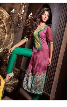 Picture of Melody Majenta Color Salwar Kameez