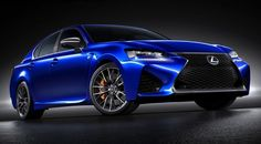 2016 Lexus GS F officially revealed with massive 467hp V8