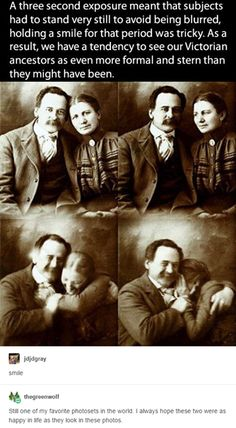 I hope those two were as happy in real life as those photos