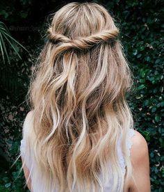 One of Vivienne's favorite hairstyles.