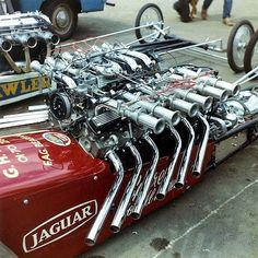 Jaguar V-12 dragster