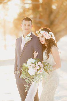 golden hour wedding photo ideas