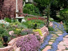 Xeriscape: a water conserving landscape. Efficient water use doesn't mean changing our lifestyle. It means reducing water waste, such as improper irrigation, and finding ways to achieve attractive, comfortable landscapes without excess water use. This landscape is a gorgeous example!
