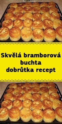 Skvělá bramborová buchta dobrůtka recept Hot Dog Buns, Hot Dogs, Hamburger, Bread, Brot, Baking, Burgers, Breads, Buns