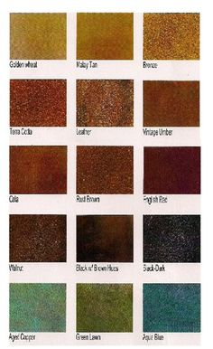 Sedona Acid Stain\'s offered by SS Specialties includes 10 coloring ...