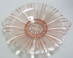 Old Café Low Candy Bowl (Mint Tray) in Pink
