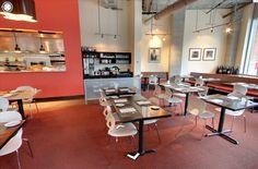 Pikaia chair by Kristalia @ Flying Fish Restaurant, Seattle (US) #bardesign #interiordesign #restaurant #design