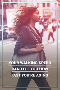 If your stride is on the slow side, you may be most at risk of accelerated aging—and the health issues that come with it. Health Advice, Health And Wellness, Health Fitness, Women's Health, Best Beauty Tips, Beauty Hacks, Pediatric Neurologist, Melt Belly Fat, Keeping Healthy