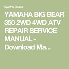 Immo off dvd course pinterest yamaha big bear 350 2wd 4wd atv repair service manual fandeluxe Choice Image