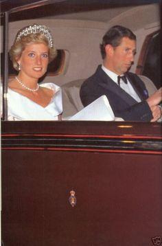 Activité de Diana  _ avril  1990
