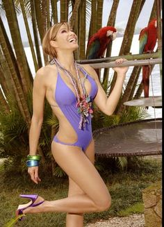 Catherine Fulop Bikini Swimwear, Bikinis, Seductive Women, Bodybuilding, That Look, Celebs, Actors, Summer, Community