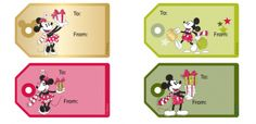 Article has links to two different types of free printable Disney gift tags.