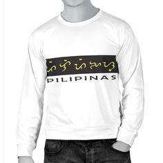 Baybayin (formerly known as Alibata) is an ancient script used by the Tagalog people of the Philippines.  Today, this indigenous indic script is mostly used in art and design to express Filipino identity. Filipino? Wear Baybayin. Be identified! Wear your style with our Baybayin designed products. #shopwithlola #baybayin #alibata #baybayinwear #wearbaybayin #filipino #philippines #baybayinscript ❤️❤️❤️❤️❤️❤️❤️❤️ Yellow Hoodie, Red Hoodie, White Hoodie, Simple Shirts, Cool Shirts, Casual Shirts, Alibata, Baybayin, Tagalog