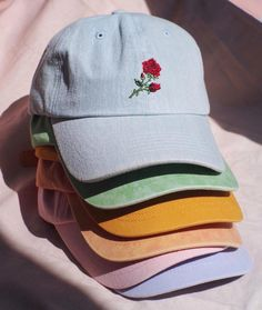 Shop the Denim Rose Baseball Hat, SKU #42074880. @UrbanOutfittersMens : @tayler_rich #UOMens
