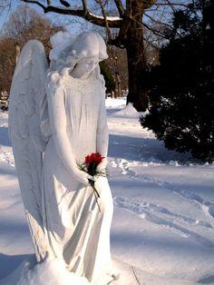 Angel en la nieve...