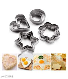 Choppers & Peelers Useful Home & Kitchen Tool Combo Material: Stainless Steel Size: ( L) 10 cm  Description: It Has 12 Pieces Of Cookie Cutter Country of Origin: India Sizes Available: Free Size   Catalog Rating: ★3.9 (785)  Catalog Name: Useful Home & Kitchen Tools Vol 17 CatalogID_699866 C135-SC1656 Code: 681-4802484-753