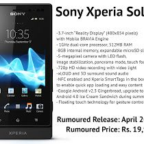 Sony Xperia Sola Android New Mobile Sony Mobile Phones Phone