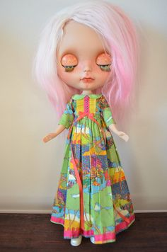 THE TRIO BLYTHE DRESS