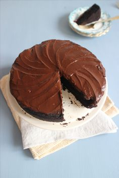 Rachel Khoo Vegan Cocoa Bean Cake