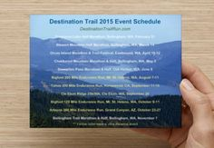 Our 2015 lineup! Trail Races, Lineup