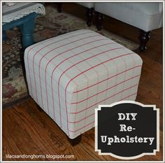 Diy cube ottoman slipcover pinterest ottoman slipcover cube and lilacs longhorns i did it reupholstering cube ottomans tutorial for when i get sick of my red cubes solutioingenieria Images
