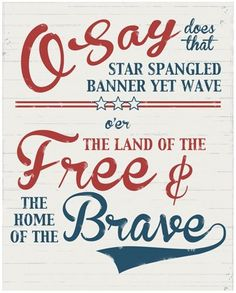 free printable sign for 4th of July