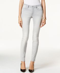 Calvin Klein Jeans Ultimate Skinny Ash Grey Wash Jeans