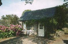 The Gardener's Cottage in France.
