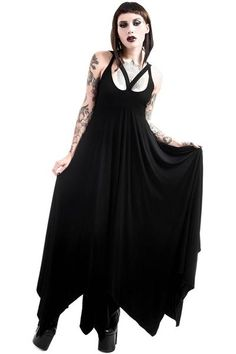 Deimos Doom Maxi Dress [B] | KILLSTAR