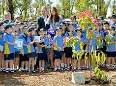 Gang's All Here!William and Kate palled around with the Winmalee Girl Guides in Australia on Thursday, April 17. The couple posed with the adventurous young women after planting a Summer Red Eucalyptus tree in the town outside of Sydney.  Read more: http://www.usmagazine.com/celebrity-news/pictures/kate-middleton-prince-william-prince-georges-royal-tour-of-new-zealand-and-australia-201494/37546#ixzz2zXTIgnvQ  Follow us: @Us Weekly on Twitter | usweekly on Facebook
