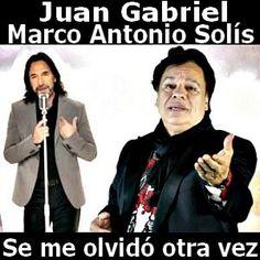 Juan Gabriel - Se me olvido otra vez ft. Marco Antonio Solis acordes