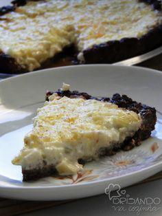 Brisando na Cozinha: Torta de carne, requeijão e cebola