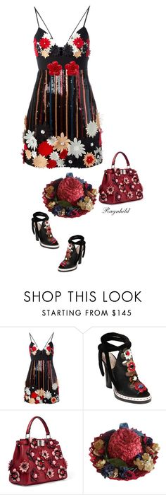 """""""Applique Away"""" by ragnh-mjos ❤ liked on Polyvore featuring Emanuel Ungaro, Fendi, Chanel, contest and outfi"""
