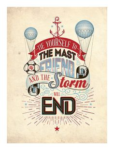 Typography Posters x2 by Luke Shropshire, via Behance