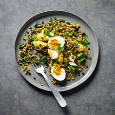 Smoked Haddock Kedgeree, a delicious recipe in the new M&S app.