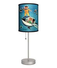 Jack 'n' Jill A Day in Outer Space Lamp