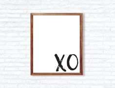 Q U O T E - XO  I N S T A N T - D O W N L O A D! This printable quote is ready to be printed at home or at any photo lab/printing service!  Y O U - W I L L - R E C I E V E + high resolution 300 dpi files + 8x10 PDF + 8x10 JPEG  Need a different size or text color? - Message me for custom edits!  P L E A S E - N O T E This listing is for a DIGITAL PDF file only. No physical item will be shipped to you and the frame is NOT included.  C O L O R - P O L I C Y Colors may vary slightly due to ...