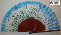 Abanico pintado a mano. Hand Painted Fan. Disponible. Precio con envío ordinario españa 24.00 euros. Si te gusta puedes enviar un mensaje a talentox2@hotmail.com www.facebook.com/abanicosairedecolor #abanicos, #abanicospintados, #pintadoamano, #abanicospintadosamano, #handpainted, #painted, #fan, #abanicosairedecolor, #flamenco, #modaflamenca, #arteflamenco